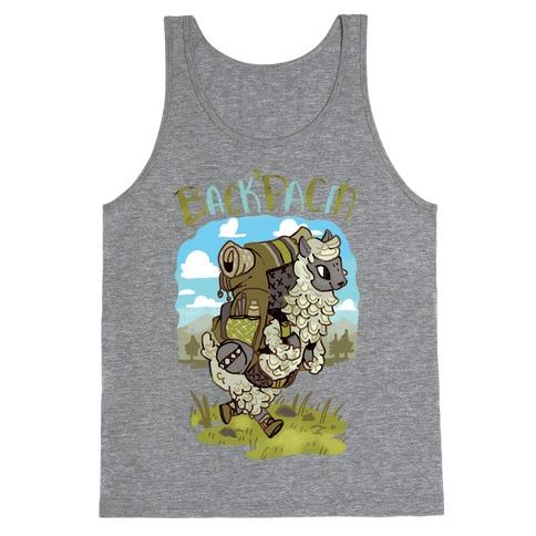 Back'Pacin Alpaca Tank Top