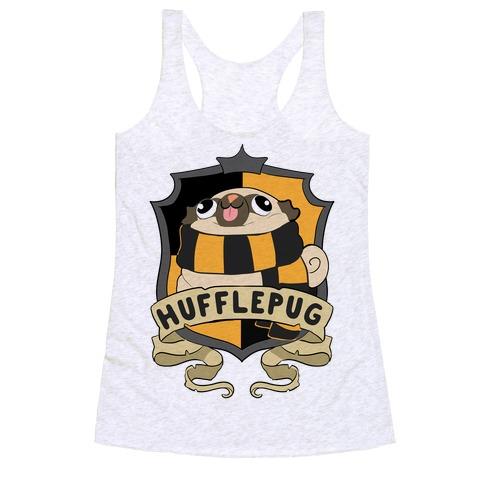 Hufflepug Racerback Tank Top
