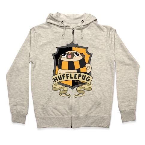 Hufflepug Zip Hoodie