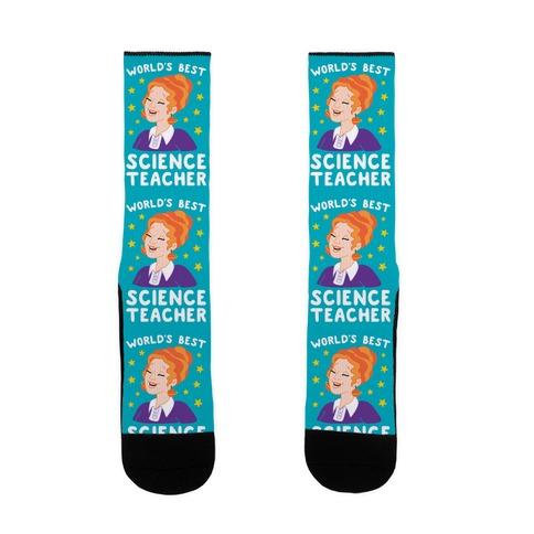 World's Best Science Teacher Sock