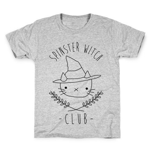 Spinster Witch Club Kids T-Shirt