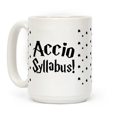 Accio Syllabus Parody Coffee Mug