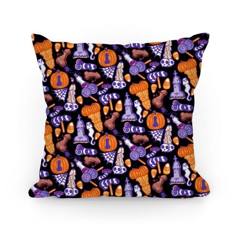 Halloweenies Pattern Pillow