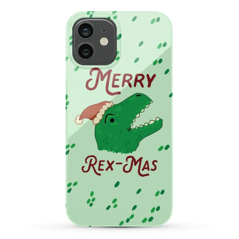 Merry Rex-mas Phone Case