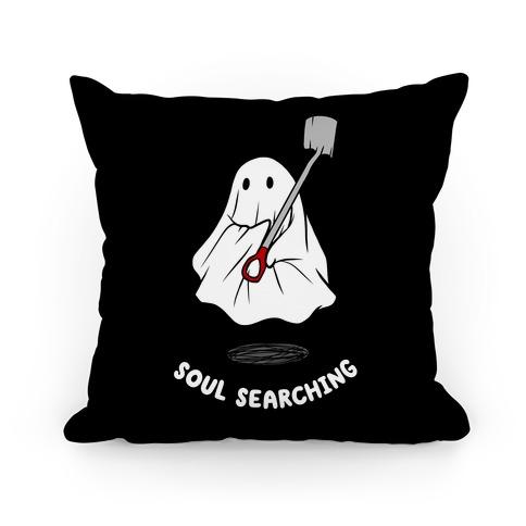 Soul Searching Pillow