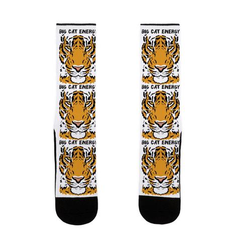 Big Cat Energy Tiger Sock