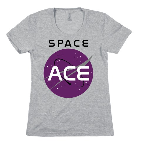 Space Ace Womens T-Shirt
