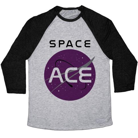 Space Ace Baseball Tee