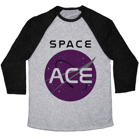 Space Ace Baseball Tee