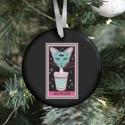 Creepy Cute Tarots: Ace of Cups Ornament