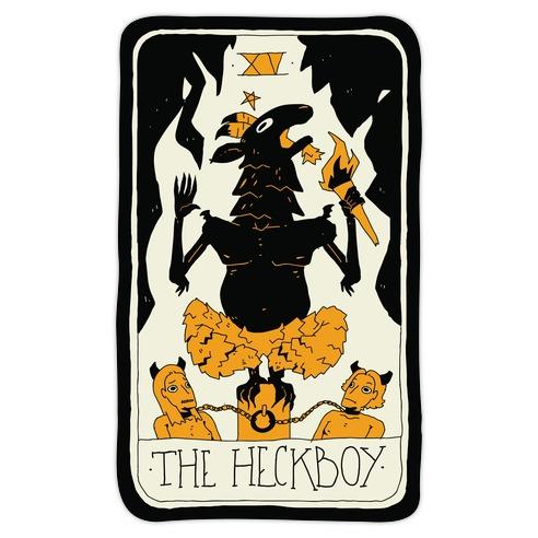 The Heckboy Tarot Card Die Cut Sticker