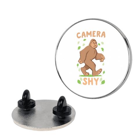 Camera Shy  pin