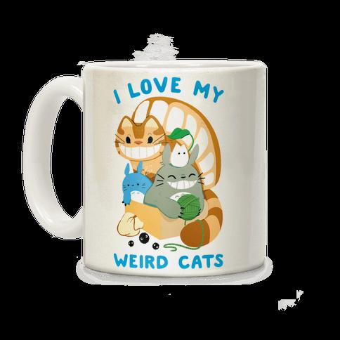 I love my weird cats Coffee Mug