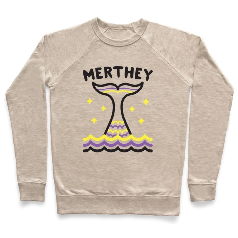 Merthey (Non-Binary Mermaid) Pullover