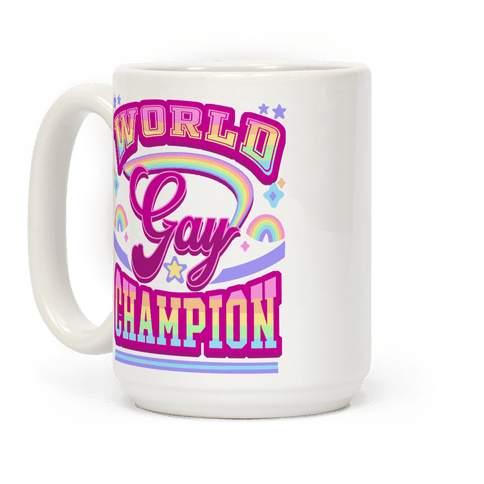 Gay World Champion Coffee Mug