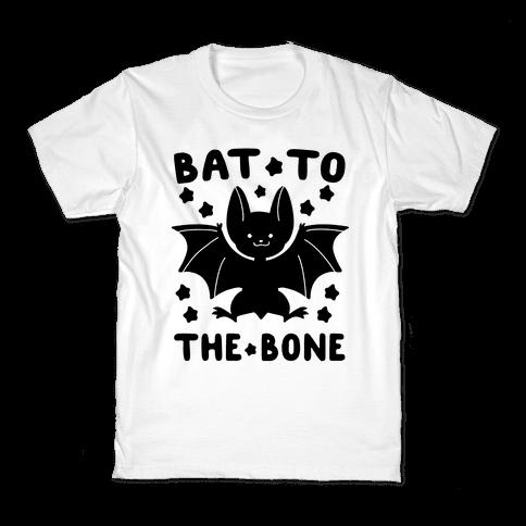 Bat to the Bone Kids T-Shirt