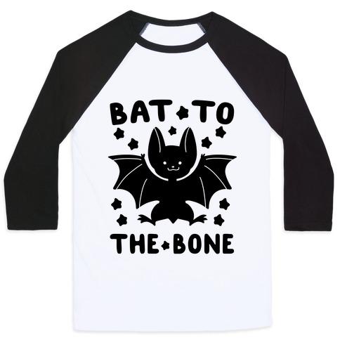Bat to the Bone Baseball Tee