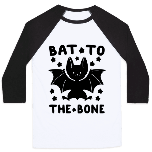 Bat to the Bone Baseball Tee
