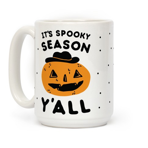It's Spooky Season Y'all Coffee Mug