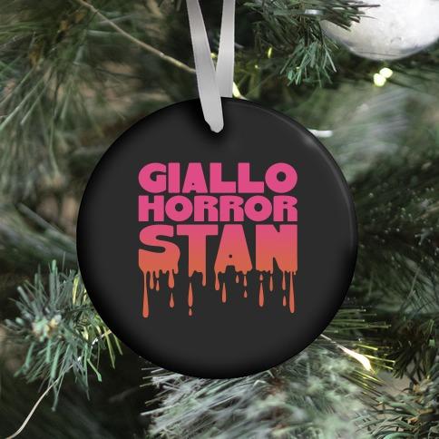 Giallo Horror Stan Ornament