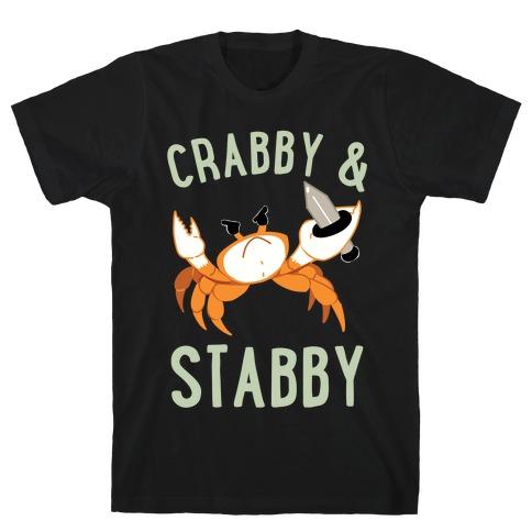 Crabby & Stabby T-Shirt