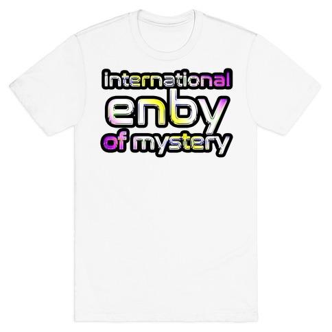 International ENBY of Mystery Mens/Unisex T-Shirt