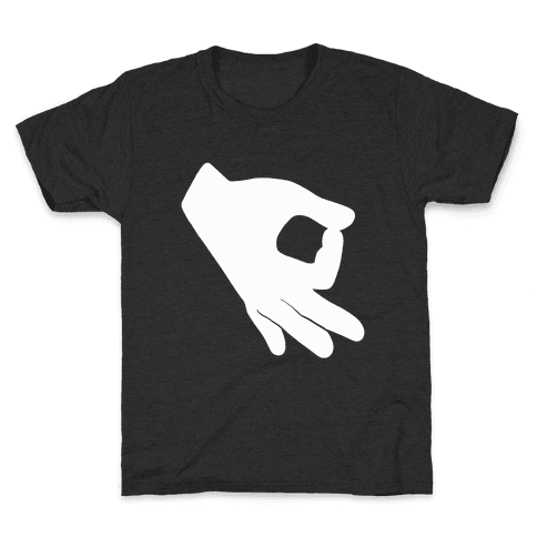 Finger Circle  Kids T-Shirt