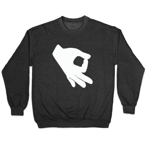 Finger Circle Game Pullover