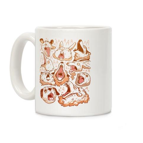 Screaming Animals Coffee Mug