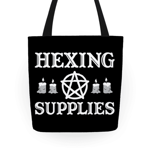 Hexing Supplies Tote