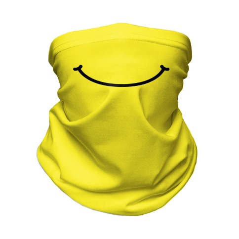 Emoji Mouth Neck Gaiter