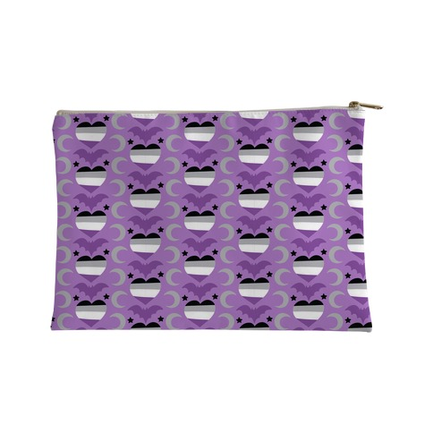 Spooky Asexual Pattern Accessory Bag