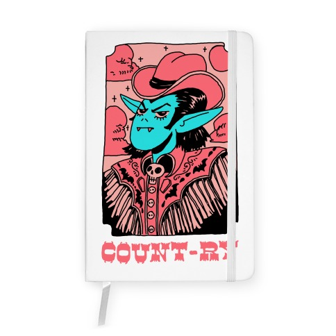 Count-ry Vampire Notebook