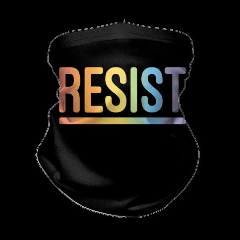 Rainbow Resist  Neck Gaiter