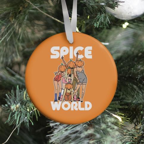 Spice World Pumpkin Spice Ornament
