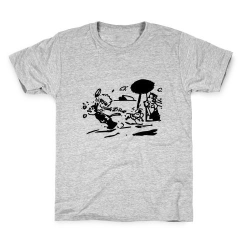 Krazy Kat Jules (Pair Shirt) Kids T-Shirt
