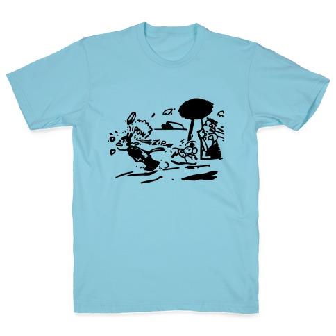 Krazy Kat Jules (Pair Shirt) T-Shirt