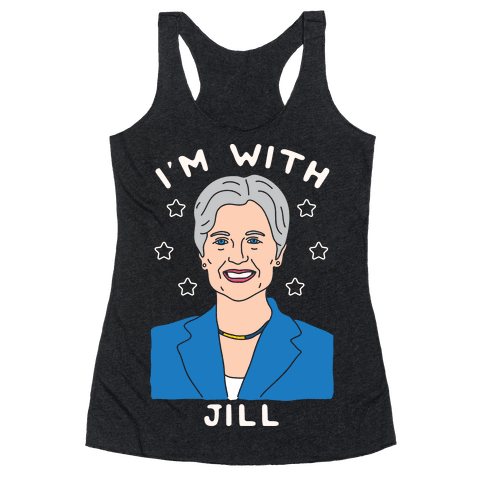 I'm With Jill Racerback Tank Top