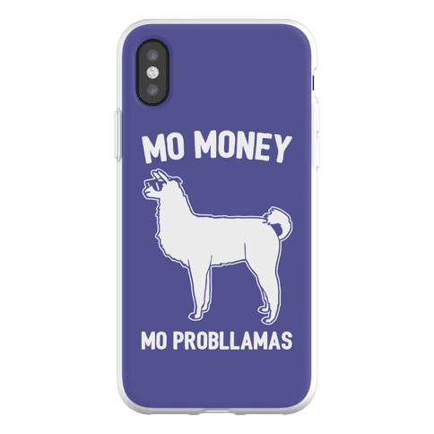 Mo Money Mo Probllamas Parody Phone Flexi-Case