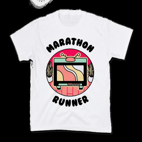 (TV) Marathon Runner  Kids T-Shirt