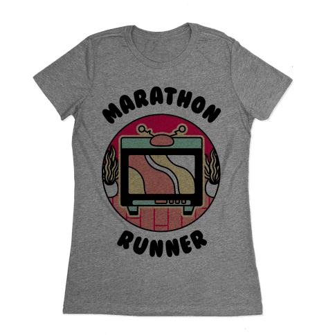 (TV) Marathon Runner Womens T-Shirt