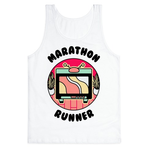 (TV) Marathon Runner  Tank Top