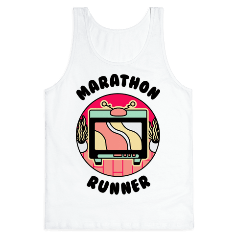 (TV) Marathon Runner Tank Top