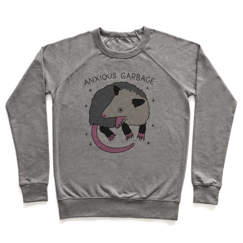 Anxious Garbage Opossum Pullover