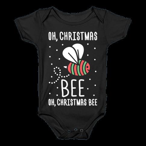 Oh, Christmas Bee Baby Onesy