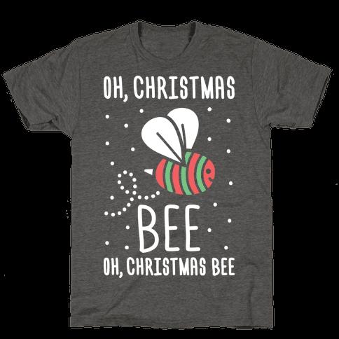 Oh, Christmas Bee Mens/Unisex T-Shirt
