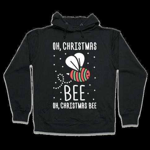 Oh, Christmas Bee Hooded Sweatshirt