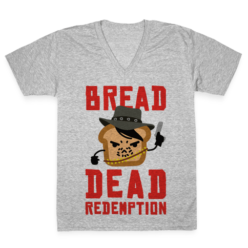 Bread Dead Redemption V-Neck Tee Shirt