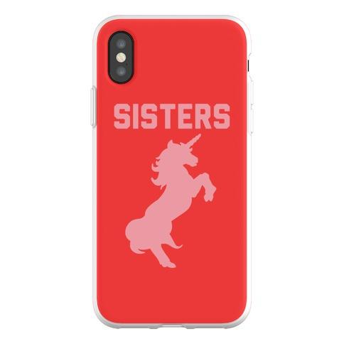 Unicorn Sisters Pair 2 Phone Flexi-Case