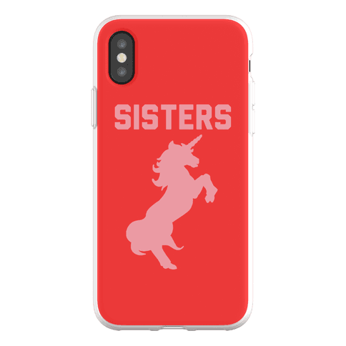 Unicorn Sisters Pair 2 Phone Flexi-Case